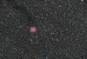 Cocoon nebula (IC 5146) - Cygne